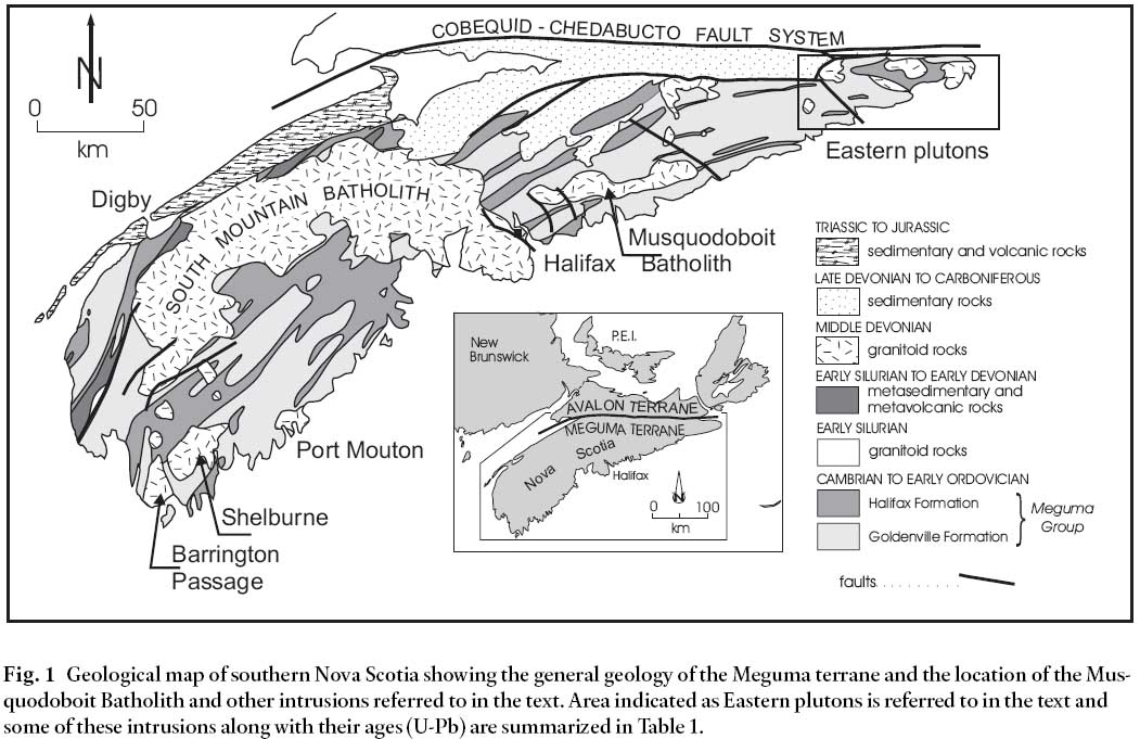 Fault Gouge Dating In the Southern Appalachians Usa