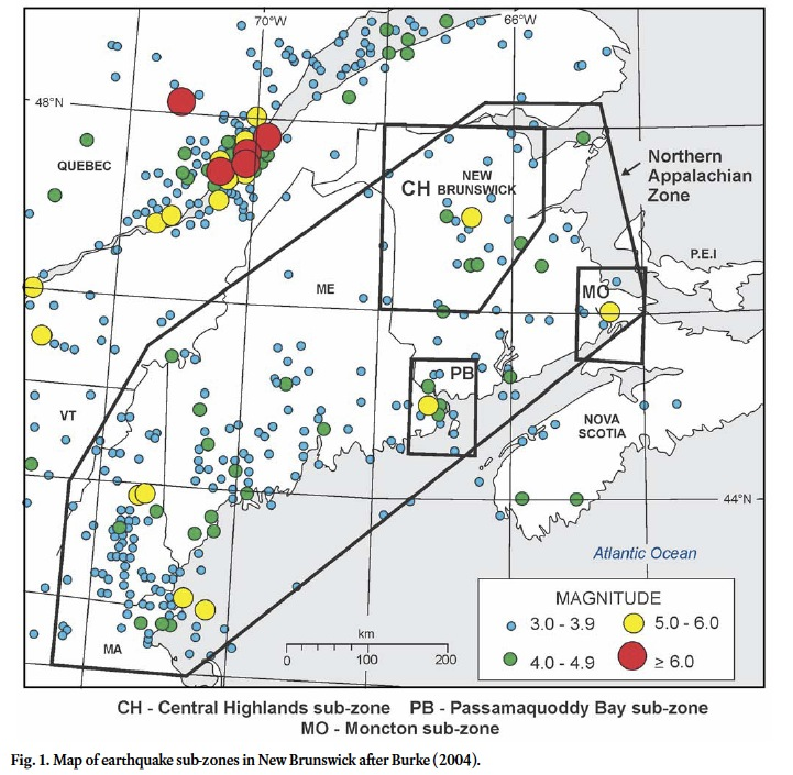 Fault Lines In Missouri Map.Geological And Site Specific Factors Influencing Earthquake Hazard
