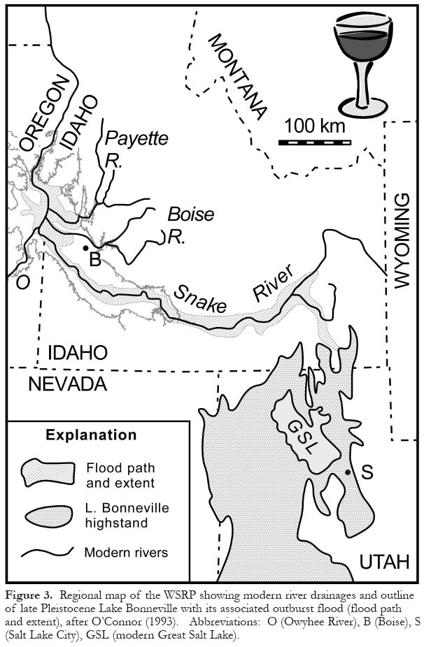 Geology and wine 11 terroir of the western snake river plain idaho 6 north of the srp are cretaceous granites of the idaho batholith along with assorted eocene volcanic rocks older sedimentary rocks and the miocene publicscrutiny Choice Image