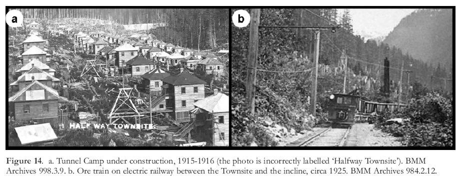 View of Great Mining Camps of Canada 5  Britannia Mines, British