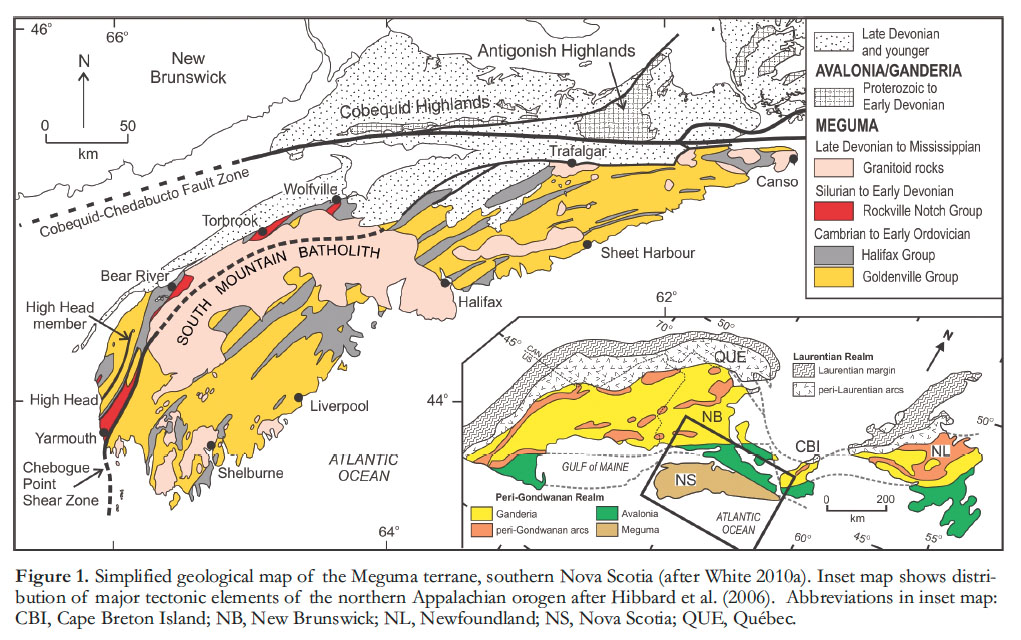 View of Meguma Terrane Revisited: Stratigraphy, Metamorphism