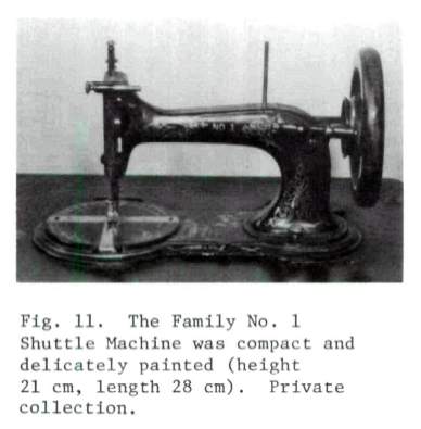 A Stitch In Time Sewing Machine Industry Of Ontario 1860 1897