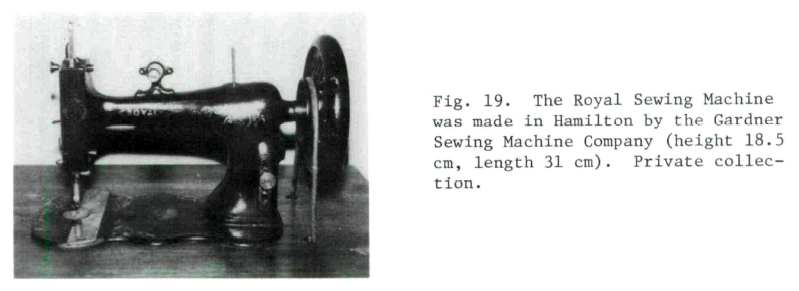 A Stitch In Time Sewing Machine Industry Of Ontario 4040 Amazing Sewing Machine Companies