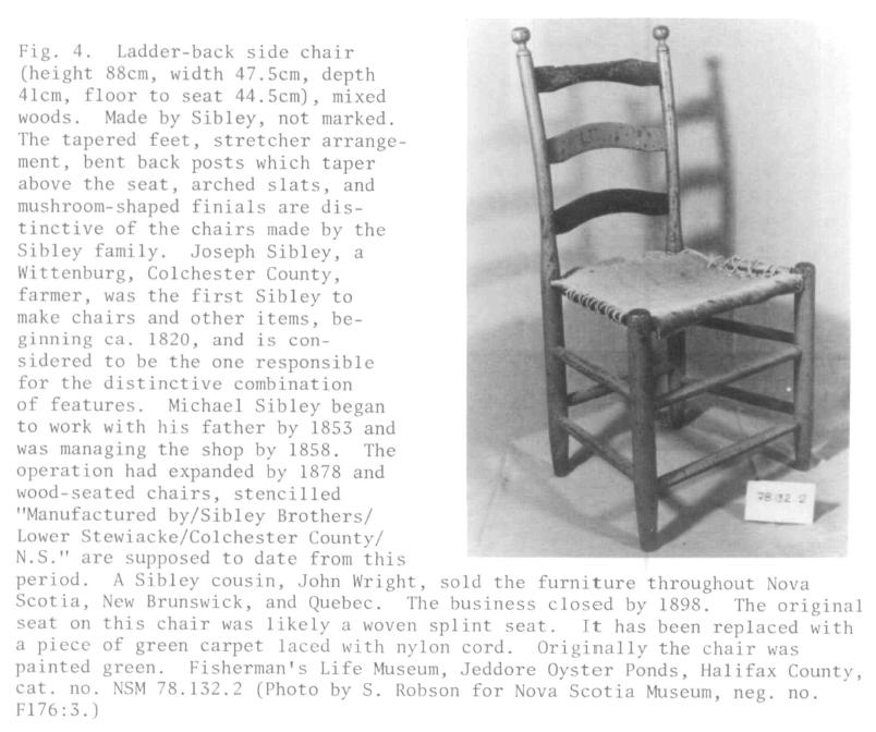 Antique Drop Leaf Table >> Nova Scotia Museum Furniture Collections | Elwood | Material Culture Review / Revue de la ...