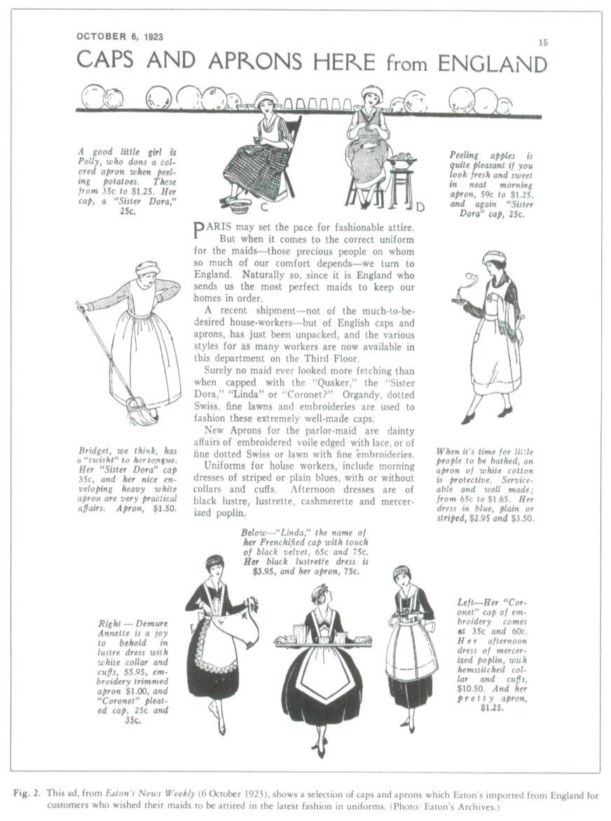 White apron toronto - Display Large Image Of Figure 2