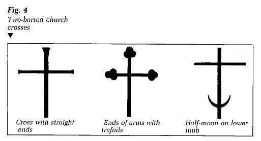Crosses Of East Slavic Christianity Among Ukrainians In Western