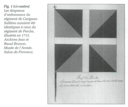 Les drapeaux militaires en nouvelle france chartrand - Reconstitution historique salon de provence ...