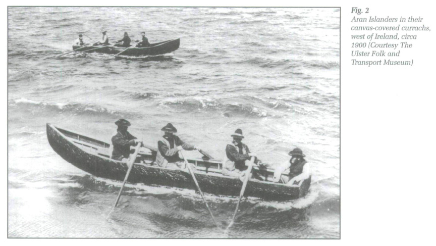 chants curragh bateau irlandais