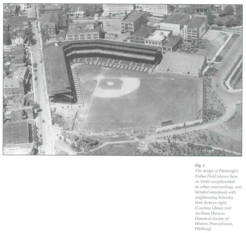 The park in the city baseball landscapes civically considered display large image of figure 1 malvernweather Gallery