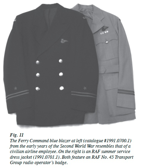 View of Showcasing the Military Aviation Uniform Collection