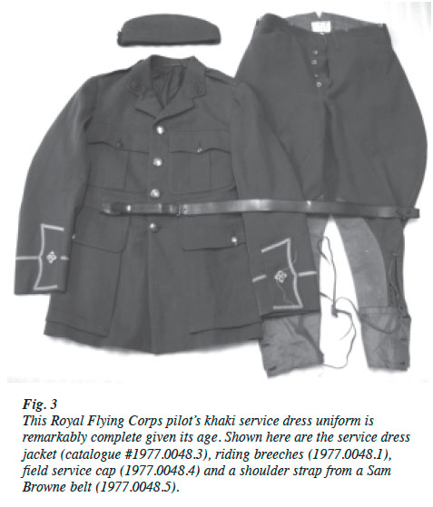 View of Showcasing the Military Aviation Uniform Collection at the