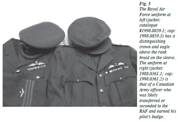 Showcasing The Military Aviation Uniform Collection At The
