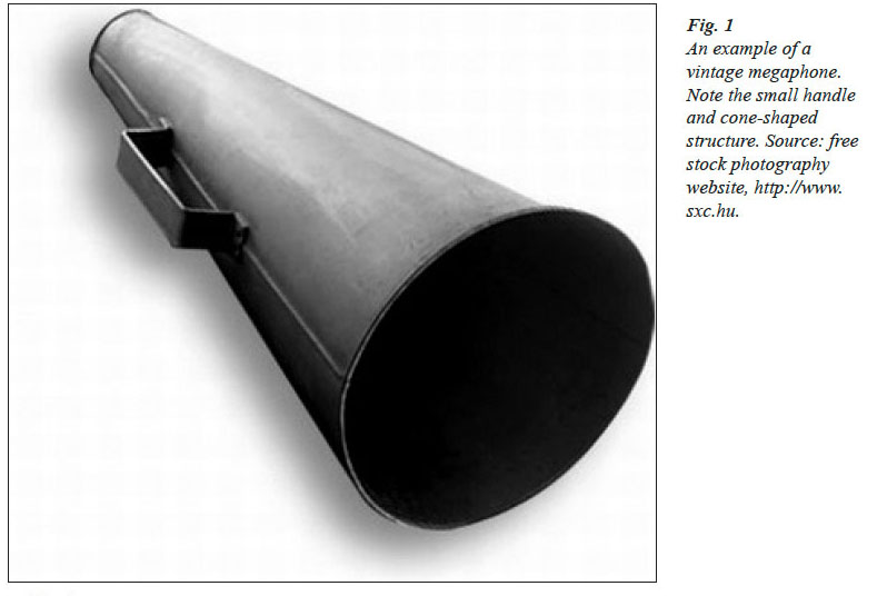 The Megaphone As Material Culture Design Use And Symbolism In