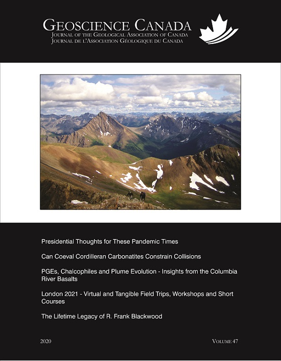 Geoscience Canada V.47 No4 (2020)