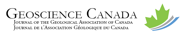 Geoscience Canada - Journal of The Geological Association of Canada